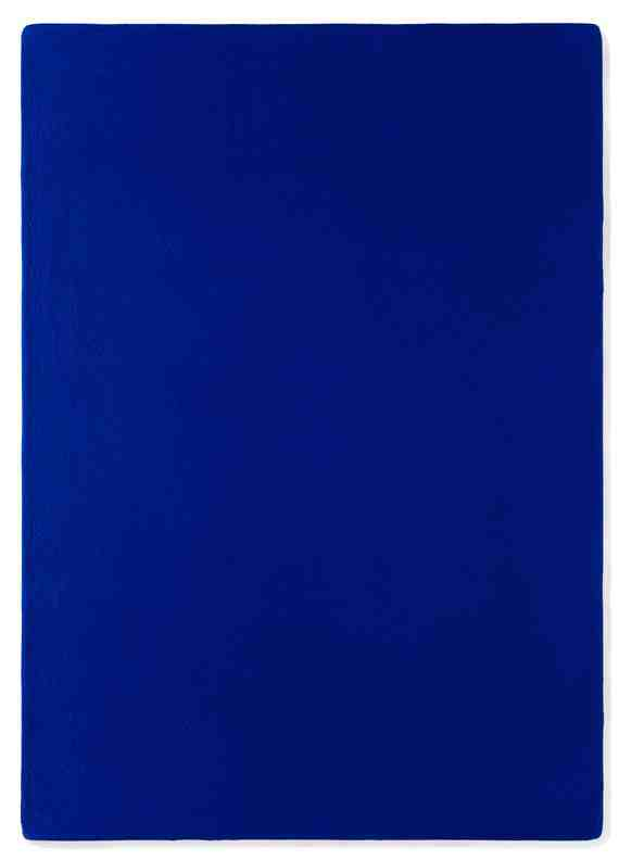 Yves Klein, Untitled Blue Monochrome