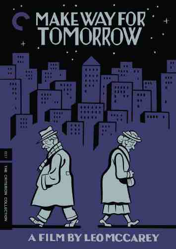 DVD Cover: Make Way for Tomorrow