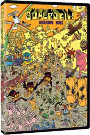 DVD Cover: Superjail Season One