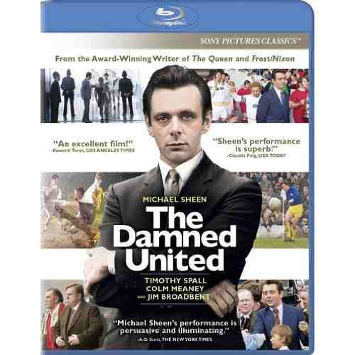 DVD Cover: The Damned United