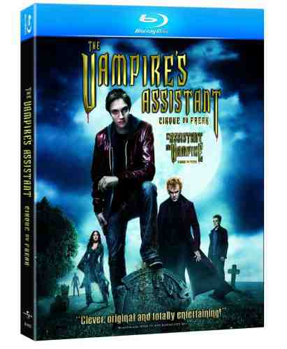 DVD Cover: Cirque du Freak: The Vampire's Assistant