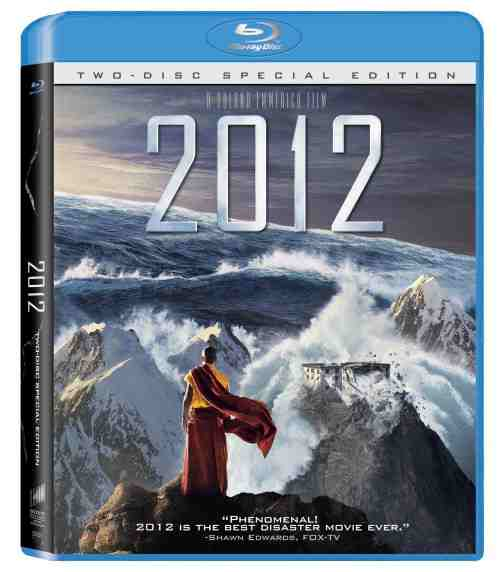 DVD Cover: 2012