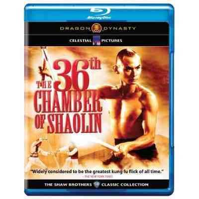 DVD Cover: The 36th Chamber of Shaolin