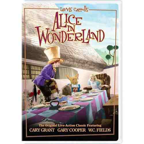 DVD Cover: Alice in Wonderland (1933)