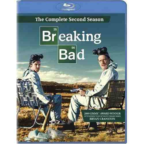 DVD Cover: Breaking Bad Season 2