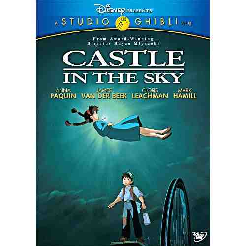 DVD Cover: Castle in the Sky