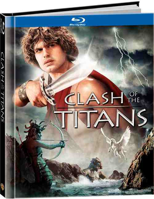 DVD Cover: Clash of the Titans