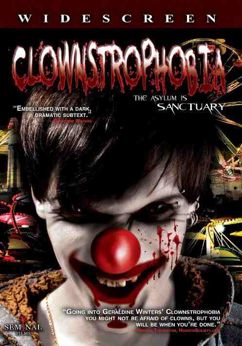 DVD Cover: Clownstrophobia