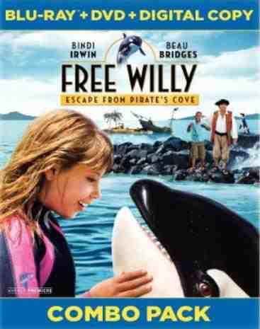 DVD Cover: Free Willy Escape from Pirates Cove