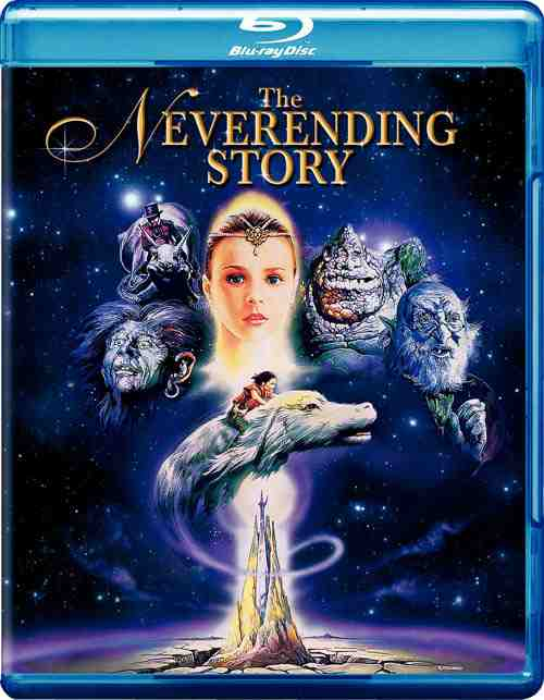 DVD Cover: The Neverending Story