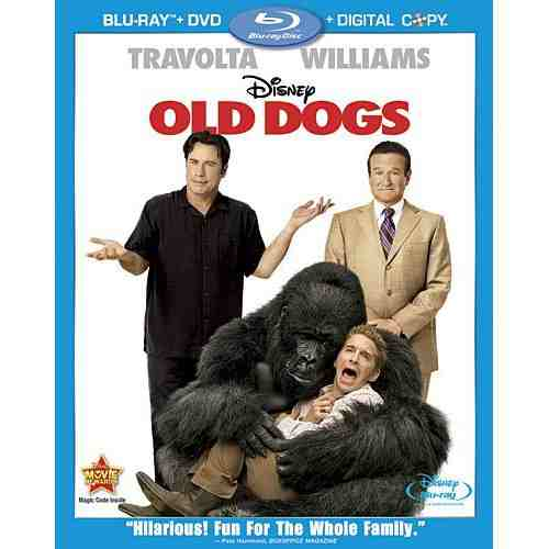 DVD Cover: Old Dogs