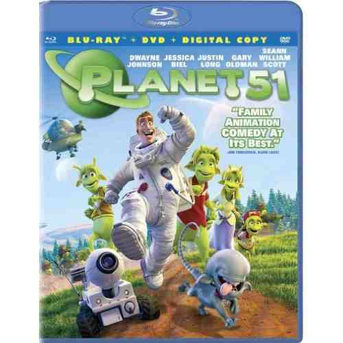 DVD Cover: Planet 51