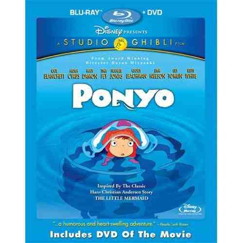 DVD Cover: Ponyo