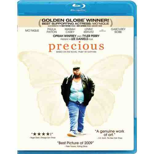 DVD Cover: Precious Based on the Novel Push by Sapphire