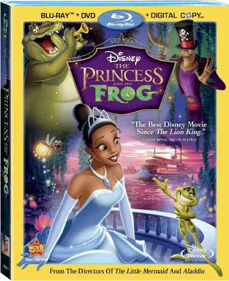 DVD Cover: The Princess and the Frog