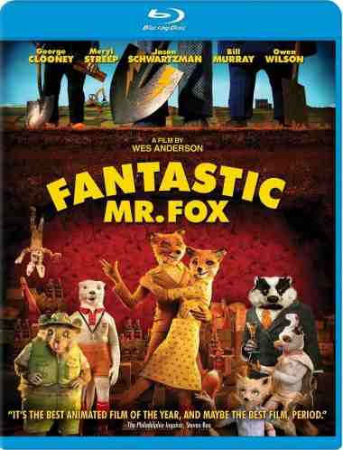 DVD Cover: The Fantastic Mr Fox