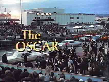 The Oscar Title Screen