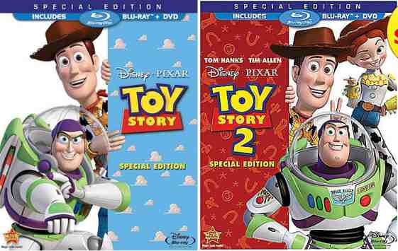 DVD Cover: Toy Story 1 & 2
