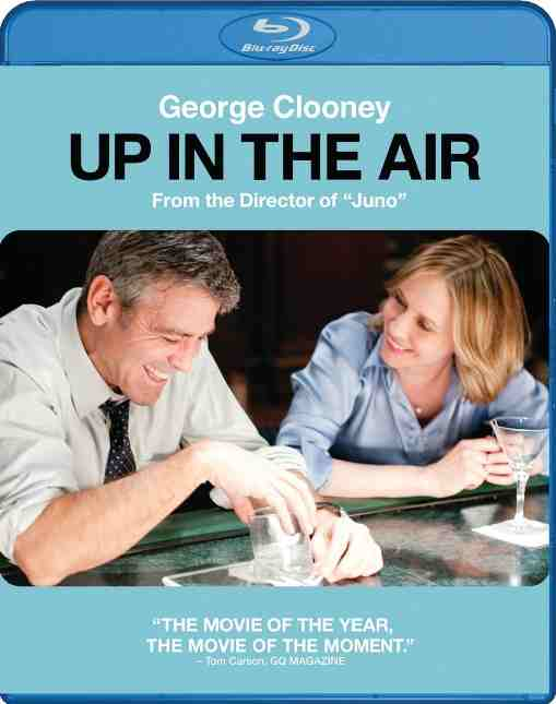 DVD Cover: Up in the Air