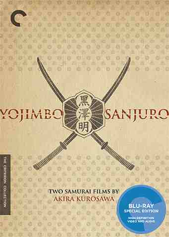 DVD Cover: Yojimbo and Sanjuro