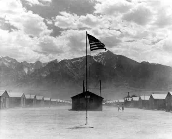 Windstorm at Manzanar