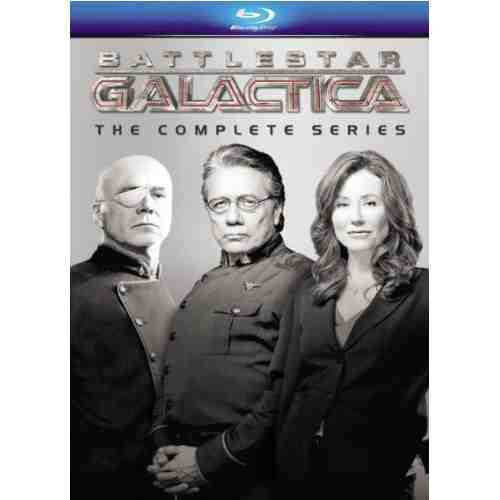 DVD Cover: Battlestar Galactica The Complete Series Re-Issue