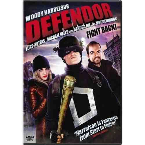 DVD Cover: Defendor