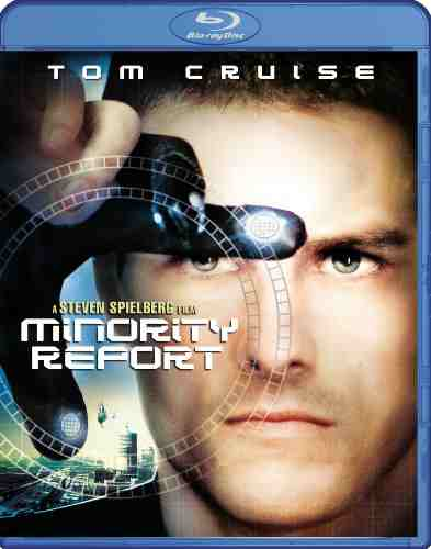 DVD Cover: Minority Report