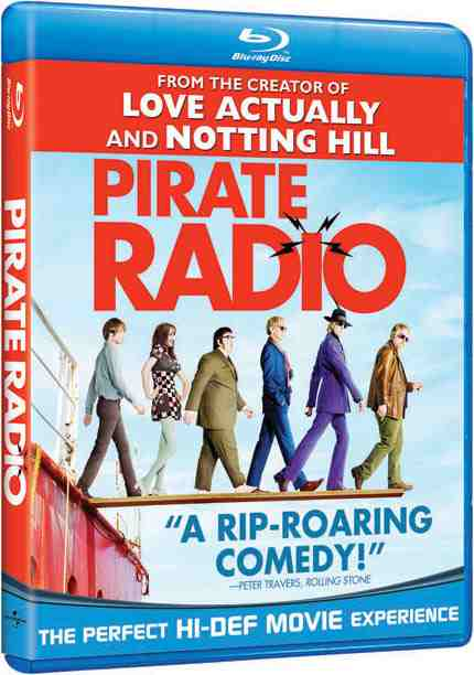 DVD Cover: Pirate Radio
