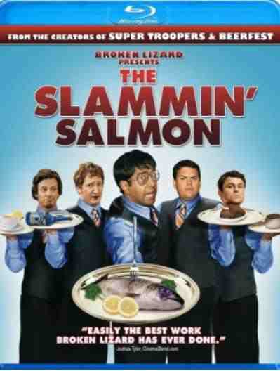 DVD Cover: The Slammin' Salmon