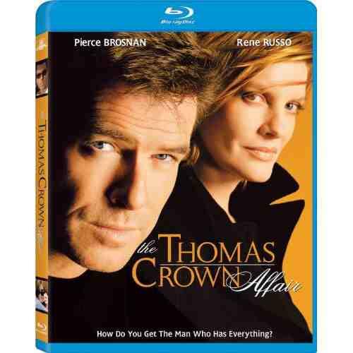 DVD Cover: The Thomas Crown Affair