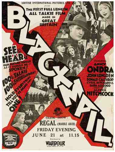 Movie Poster: Blackmail!