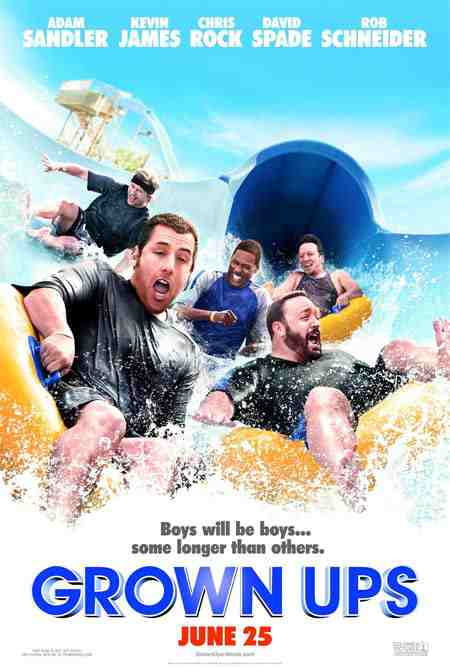 Movie Poster: Grown Ups