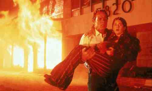 Movie Still: Volcano