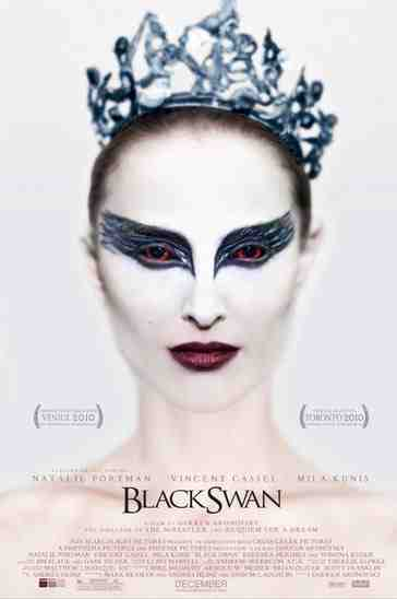 Portman has never looked quite so spooky: the Black Swan poster.