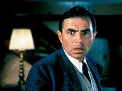 As North by Northwest's villain Vandamm, James Mason is a picture of smooth menace.