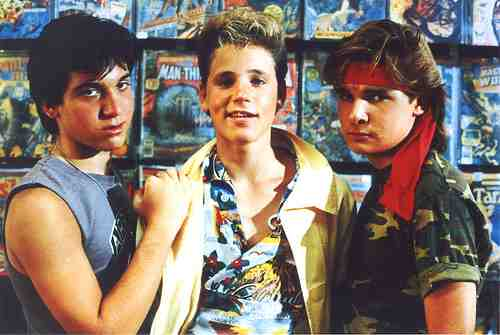 Sam and the Frog Brothers in The Lost Boys