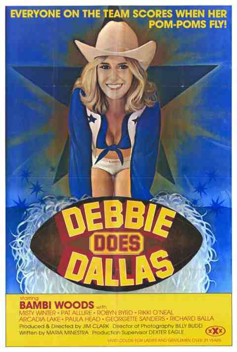 Movie Poster: Debbie Does Dallas