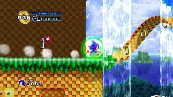 Videogame Still: Sonic The Hedgehog
