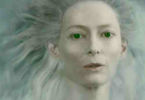 Tilda Swinton as the White Queen in Chronicles of Narnia