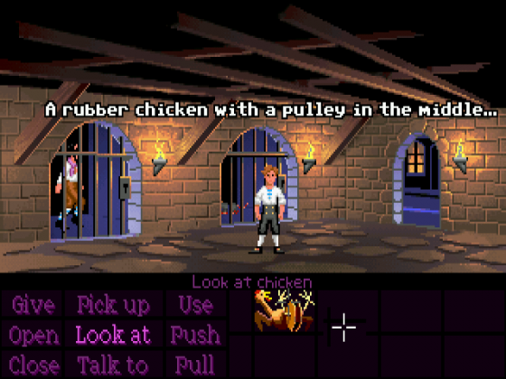 Videogame Still: The Secret of Monkey Island