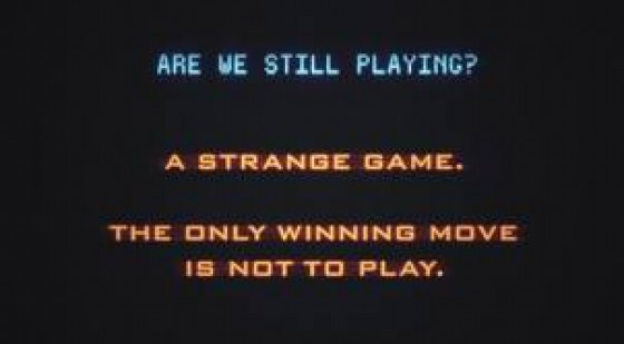 Movie Still: WarGames
