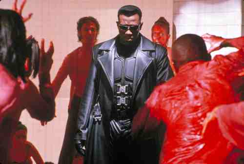 Wesley Snipes is Blade