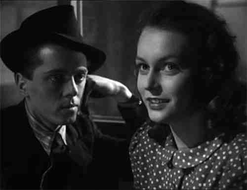 Richard Attenborough as Pinkie and Carol Marsh as Rose - Brighton Rock