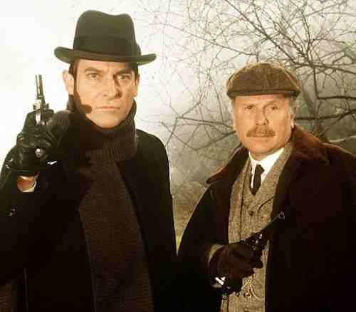 The Hound Of The Baskervilles – Granada Television - Jeremy Brett, Edward Hardwicke