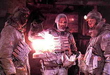 The Thing - Keith David, Kurt Russell, Donald Moffat