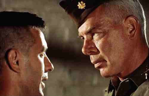 The Dirty Dozen - John Cassavettes and Lee Marvin