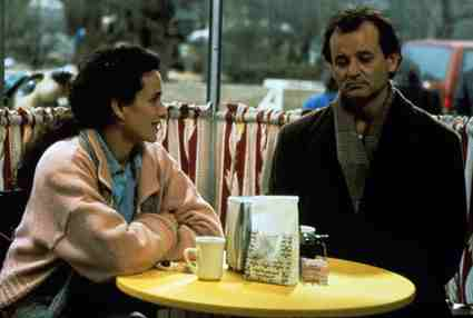 Andie McDowell and Bill Murray in Groundhog Day