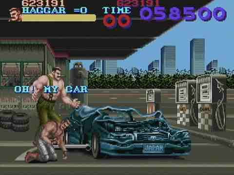 Haggar Breaks Cars
