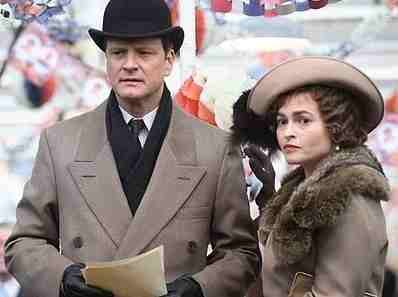 Bonham Carter, Firth in The King's Speech